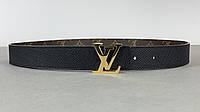 Ремінь Louis Vuitton двосторонній (Луї Віттон) арт. 70-03, фото 1