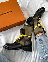 Женские ботинки Louis Vuitton Metropolis Ranger Boots 37