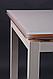 Обеденный стол Афины AMF, черный стекло антрацит, фото 5