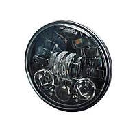 Мото фара LED 5,75 дюймів WM-UL-J557-AM (Black) Harley-Davidson, Dyna, Sportster, 883, Street