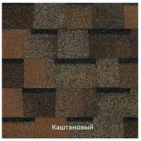 Бітумна черепиця Kerabit / Керабіт Преміум Каштан