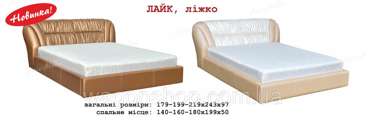 Кровать-подиум Лайк 180 Алис