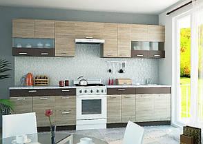 """Кухня """"Алина"""" нижний модуль 60Н цвет - дуб Сонома / латте, фото 3"""