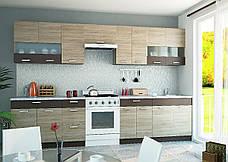 """Кухня """"Алина"""" верхний модуль 50В цвет - дуб Сонома / латте, фото 2"""