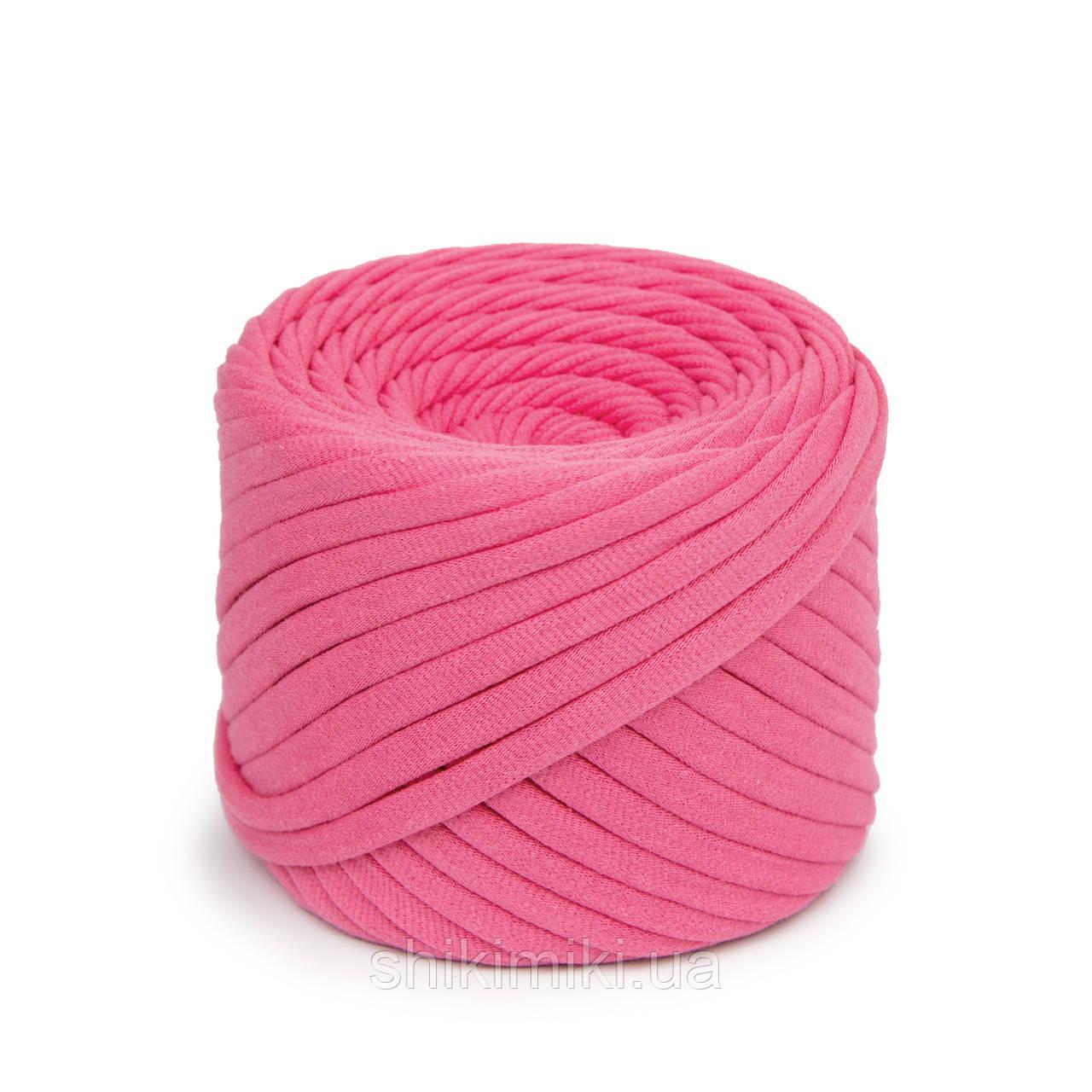 Трикотажная пряжа Bobilon (50 м), цвет Розовый Фламинго