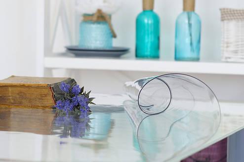 Прозрачное Гибкое стекло на стол, толщина 1,5 мм, фото 2