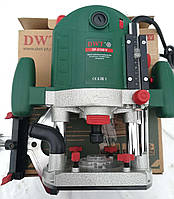 Фрезер DWT OF-2100 V, мощность 2100 Вт, ход фрезы 60 мм,плавный пуск, регулировка оборот, цанг зажим 12 мм