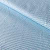 Сатин з тонкою блакитною смужкою на блакитному, ширина 160 см