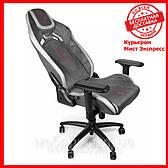Компьютерное кресло Barsky CYB-01 VR Cyberpunk Microfiber Black, геймерское кресло