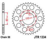 Звезда задняя стальная  JT JTR1334.40 JT Sprockets, фото 2