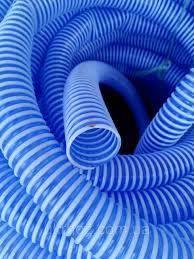 Шланг гофра 40мм ( 25м ) спирально армированный сантехнический сифонный, фото 2