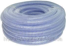 Шланг гофра 40мм ( 25м ) спирально армированный сантехнический сифонный, фото 3