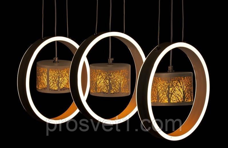 Светодиодная люстра подвесная 9352-3 ЛС