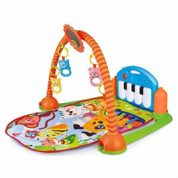 Коврик для младенца HX9127(Blue) пианино, дуга, подвески