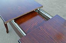 Стол обеденный Гаити 120 см венге (Микс-Мебель ТМ), фото 2