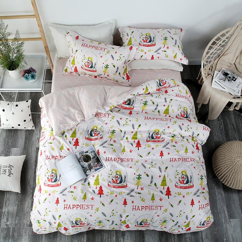 Комплект постільної білизни найщасливіший (полуторний) Berni Home