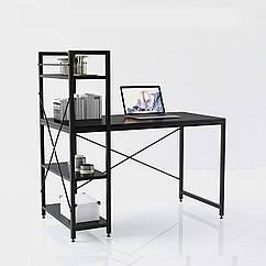 Компьютерный стол Loran в стиле Loft черный