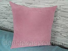Подушка декоративная 45х45 розовая