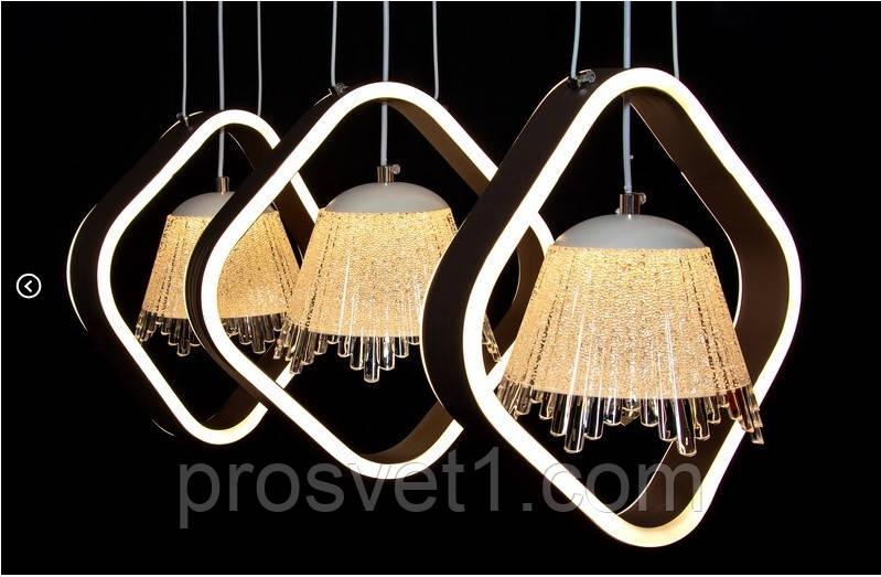 Светодиодная люстра подвесная 9370-3 ЛС