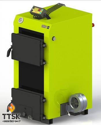 Твердотопливный котел Kotlant КЭ-17 с электронной автоматикой и вентилятором