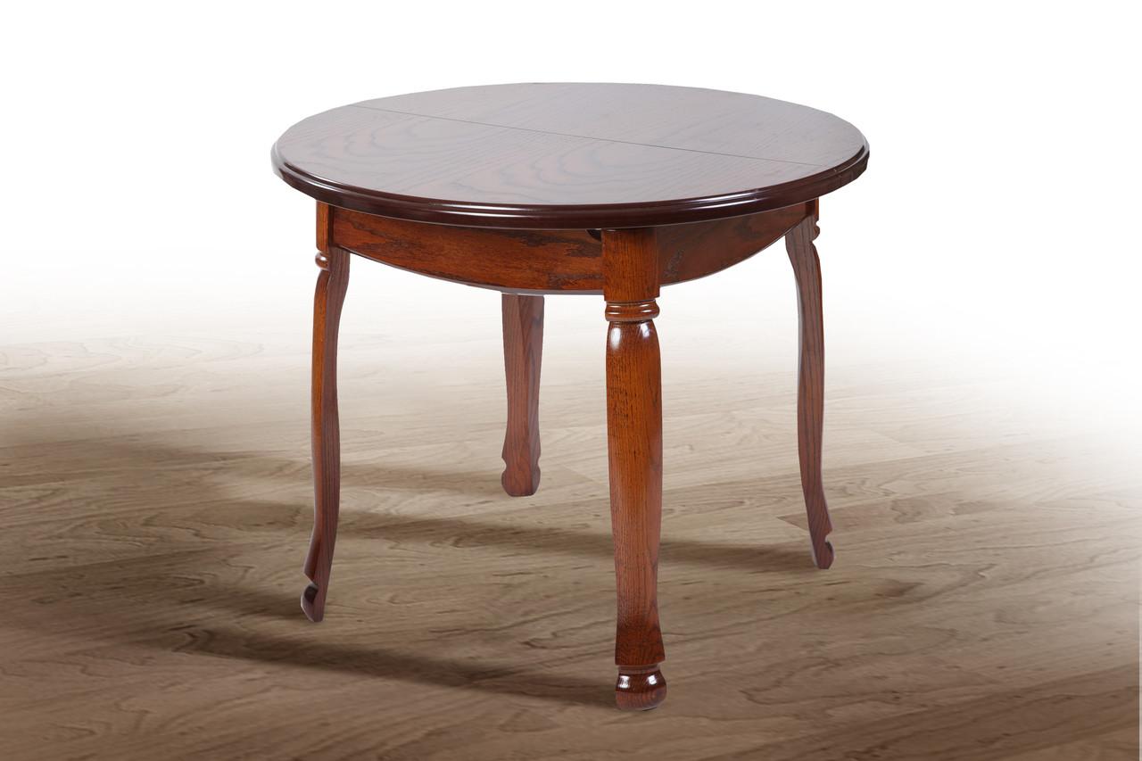 Стол обеденный Гаити круглый орех (Микс-Мебель ТМ)
