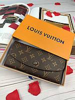 Женский кошелек Louis Vuitton (Луи Витон) качество супер