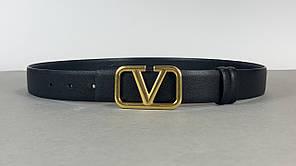 Шкіряний жіночий ремінь Valentino (Валентино) арт. 127-12