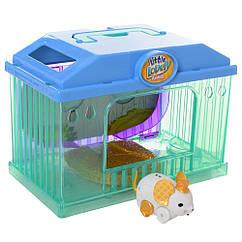 """Інтерактивна іграшка """"Мишка в будинку"""" 2613(White) мишка 7см, будиночок"""