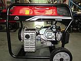 Бензиновий електрогенератор Vulkan SC6000E-II 5,5 кВт (34171) + масло 4Т 2шт., фото 2