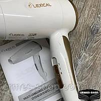 Складаний дорожній фен для волосся Lexical LHD-5001 | 1200W, фото 2