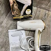 Складаний дорожній фен для волосся Lexical LHD-5001 | 1200W, фото 3