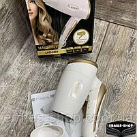 Складаний дорожній фен для волосся Lexical LHD-5001 | 1200W, фото 4
