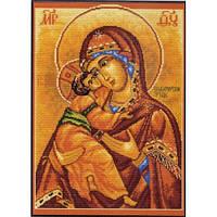 536 Набор для вышивания нитками. Владимирская Богородица. Матрёнин Посад