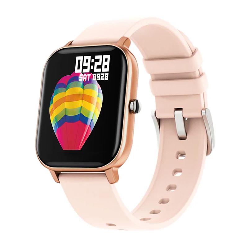 Смарт-часы Colmi P8 Gold для измерения пульса Bluetooth умные часы