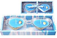 Набор свечей в стекл. подсвечниках (2 шт) Морское настроение BonaDi 328-C24