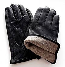 Чоловічі перчатки Ginge з оленячої шкіри, підкладка шерсть сітка (10,5-12,5)