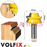 Фрези VOLFIX d12 для виготовлення бочок паз шип (тато-мама) комбінована пазо-шиповая фреза для з'єднання, фото 6