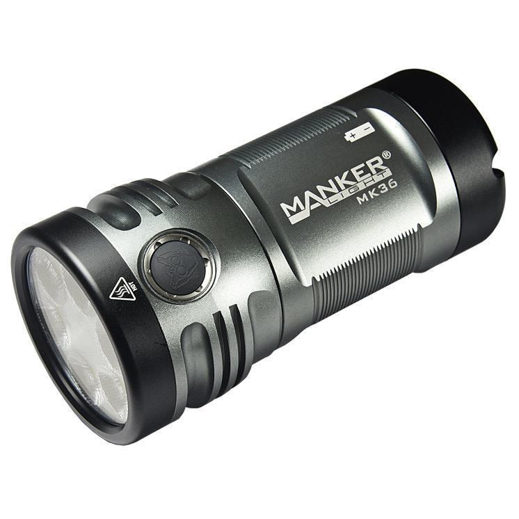 Фонарь мощный Manker MK36 светодиодный Cree XHP50.2 12000 люмен прожектор Powerbank