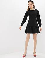 Сукня трикотажне жіноче Black Berni Fashion (S), фото 1