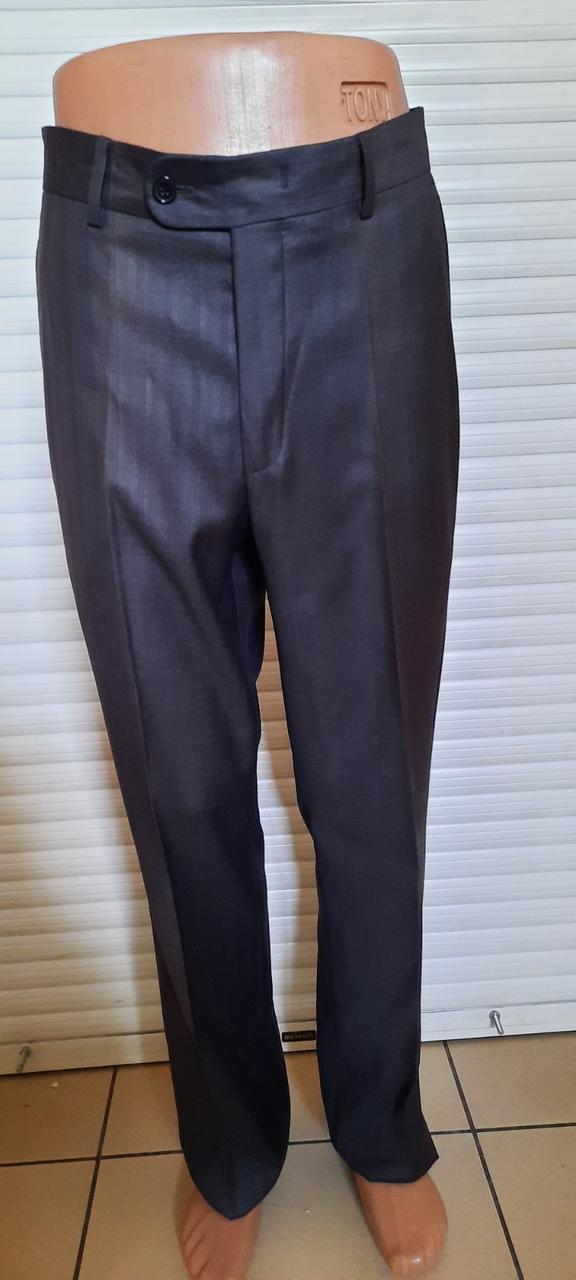 Мужские брюки West-Fashion модель 217 сине-серые
