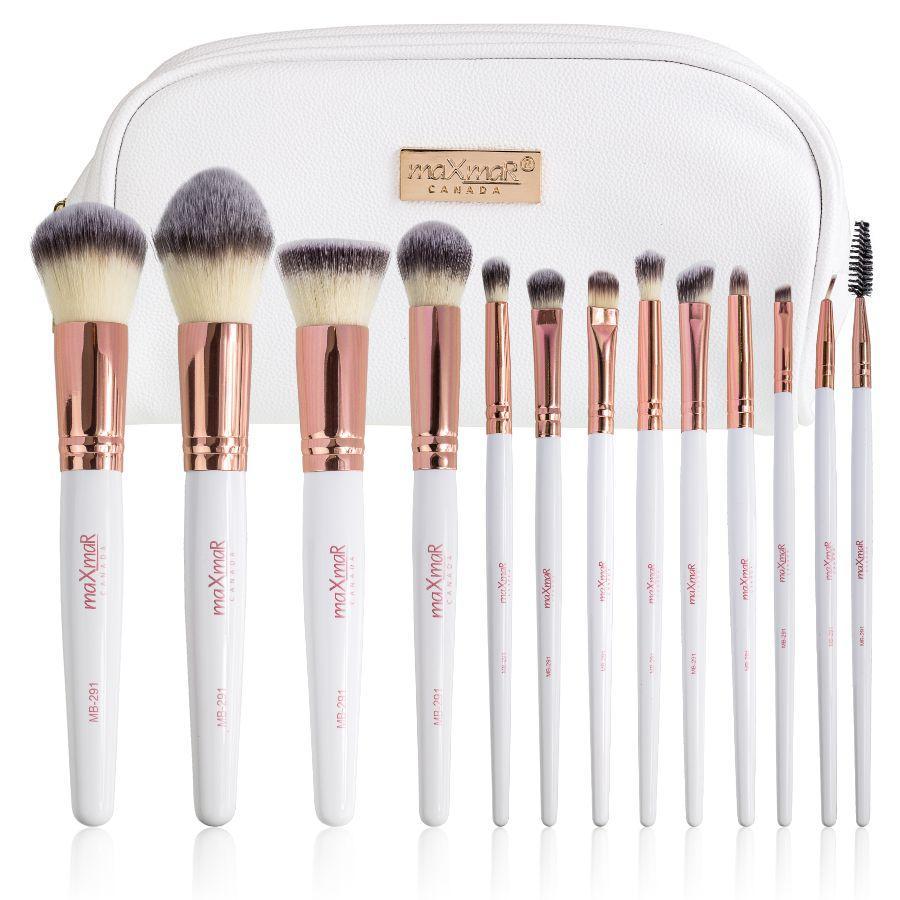 Набор кистей для макияжа из 13 инструментов maXmaR MB-291