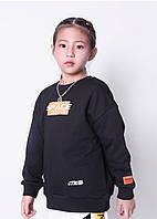 Світшот для дівчинки Cosmos, чорний Bronco (110), фото 1