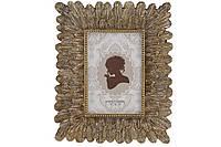 Рамка для фото прямоугольная, 25.5см, цвет - розовое золото, размер фото - 10*15см BonaDi 450-201