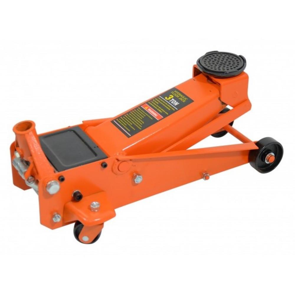 Автомобільний домкрат швидкий підкатний Siker 3т гідравлічний підлоговий для СТО (Домкрат швидкий підкатний)