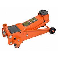 Автомобільний домкрат швидкий підкатний Siker 3т гідравлічний підлоговий для СТО (Домкрат швидкий підкатний), фото 1