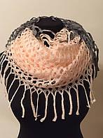 Женский шарф - труба- хомут
