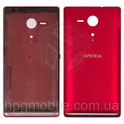 Корпус для Sony Xperia SP C5302, C5303, M35, красный