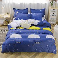 Комплект постельного белья Rain (двуспальный-евро) Berni Home, фото 1