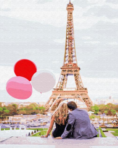 Паризька любов (GX4886). Картини за номерами 40×50 див.