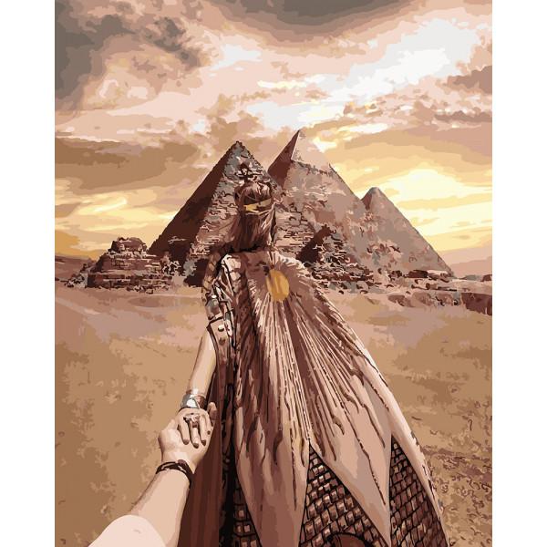 Йди за мною. Імператриця єгипту (GX26289). Картини за номерами 40×50 див.